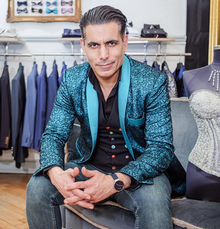 Modedesigner Alexander Kappen